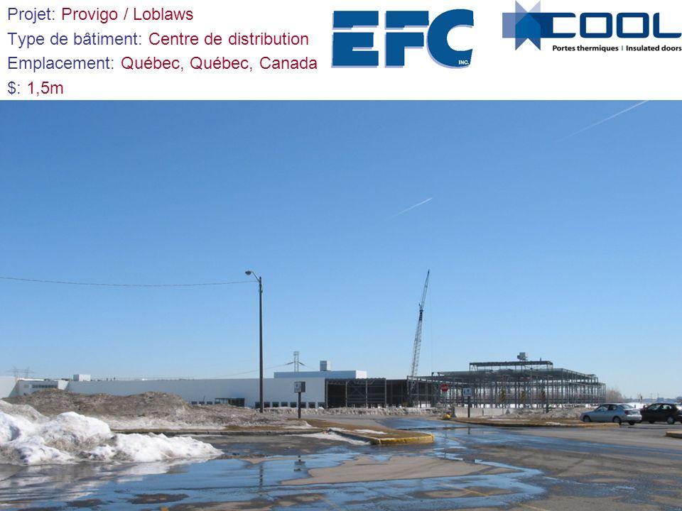 Projet: Stade de soccer intérieur Type de bâtiment: Complexe multisportif Emplacement: Terrebonne, Quebec, Canada $: 1,5m