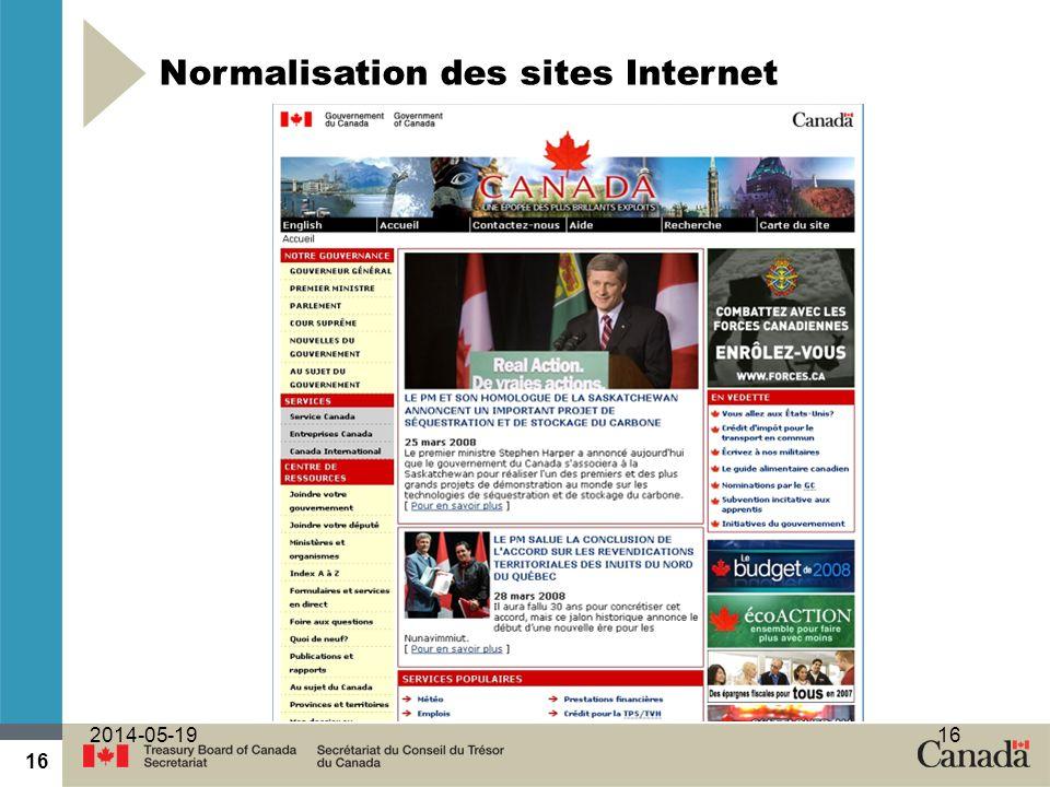 16 2014-05-1916 Normalisation des sites Internet