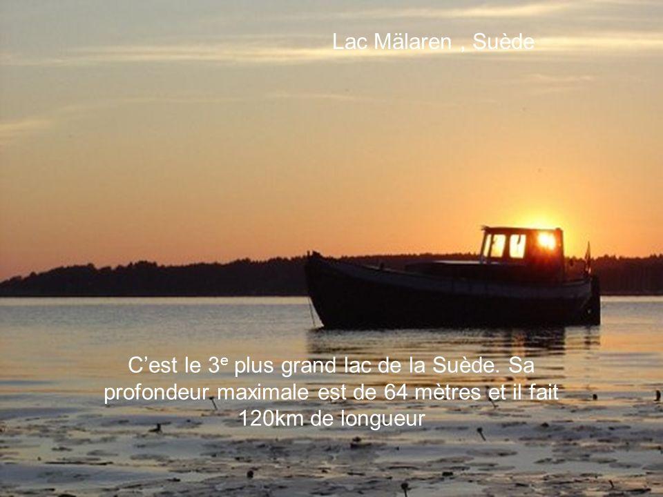 Lac Guichard, France Lac-aux-sables, Canada Au Québec, le Lac-aux-sables est considéré comme le paradis des randonneurs et des amateurs de sports naut
