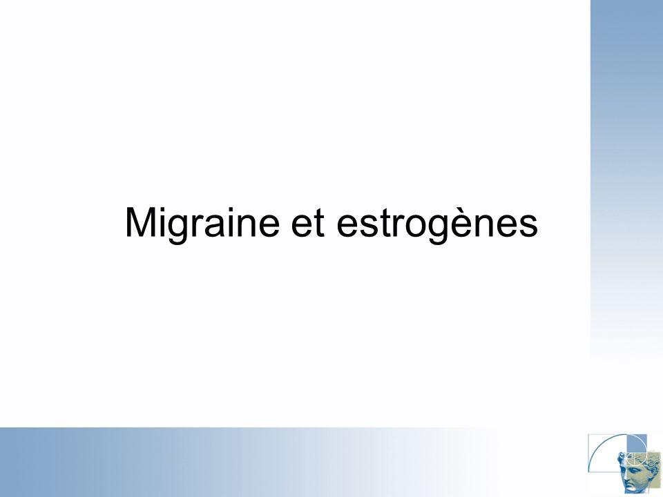 Migraine et estrogènes