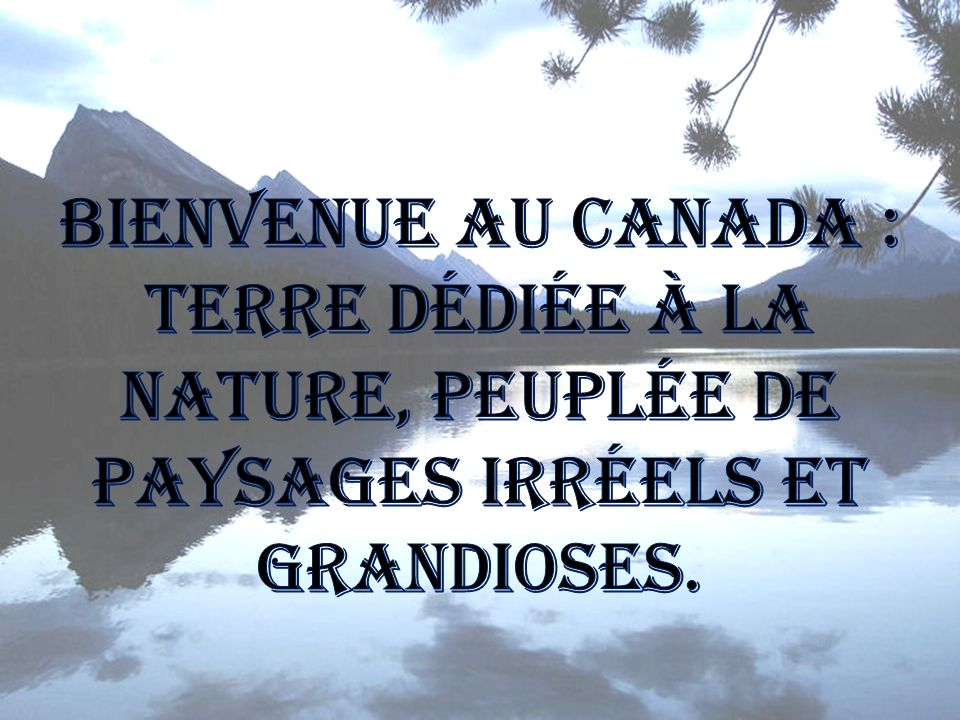 Mon pays - Gilles Vigneault