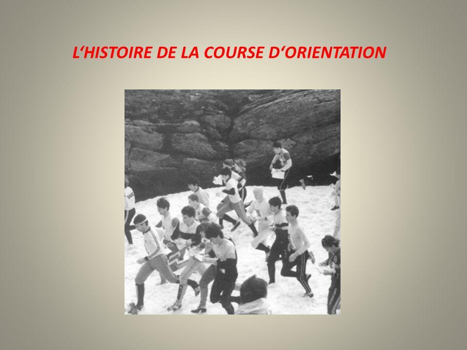 LHISTOIRE DE LA COURSE DORIENTATION
