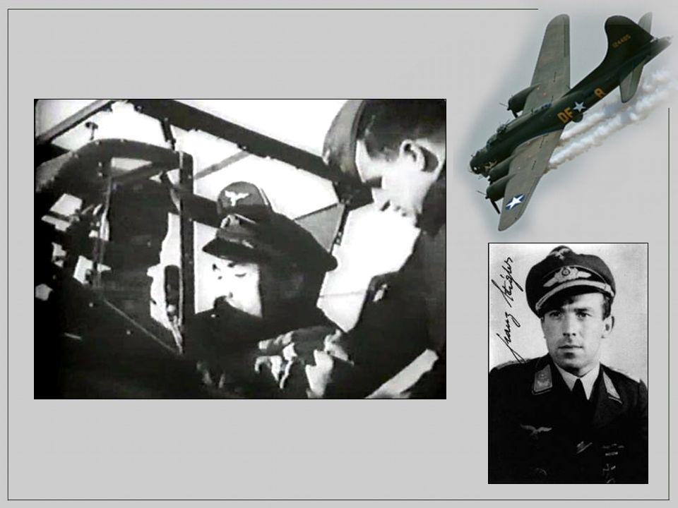 Quand il fut suffisamment proche du B-17, Franz n en cru pas ses yeux.