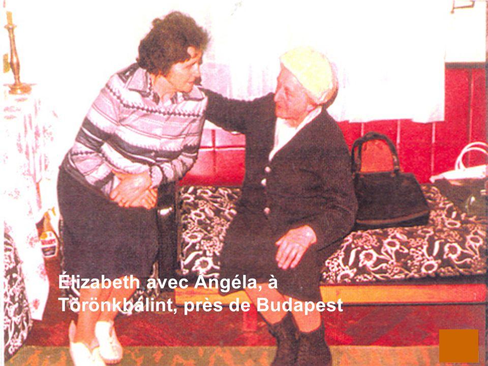 12 Élizabeth avec Ángéla, à Törönkbálint, près de Budapest