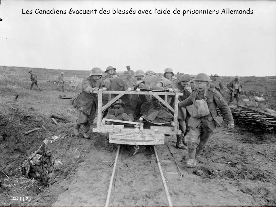 Convoi et renforts vers la première ligne