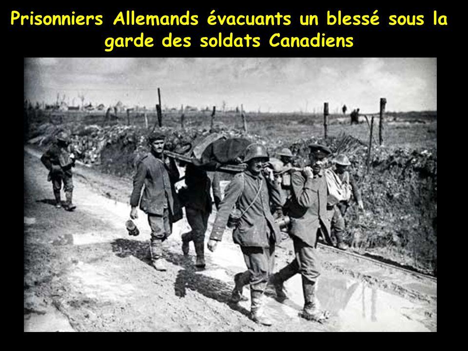 Évacuation de prisonniers Allemands