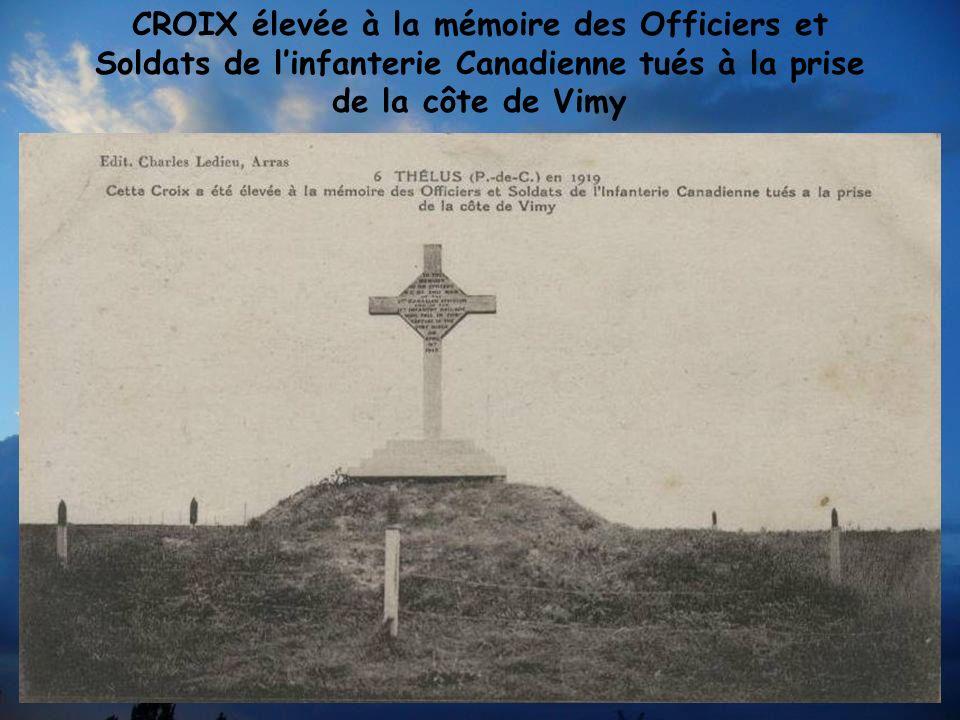 La France fit don au Canada de cette crête de Vimy – Côte 145