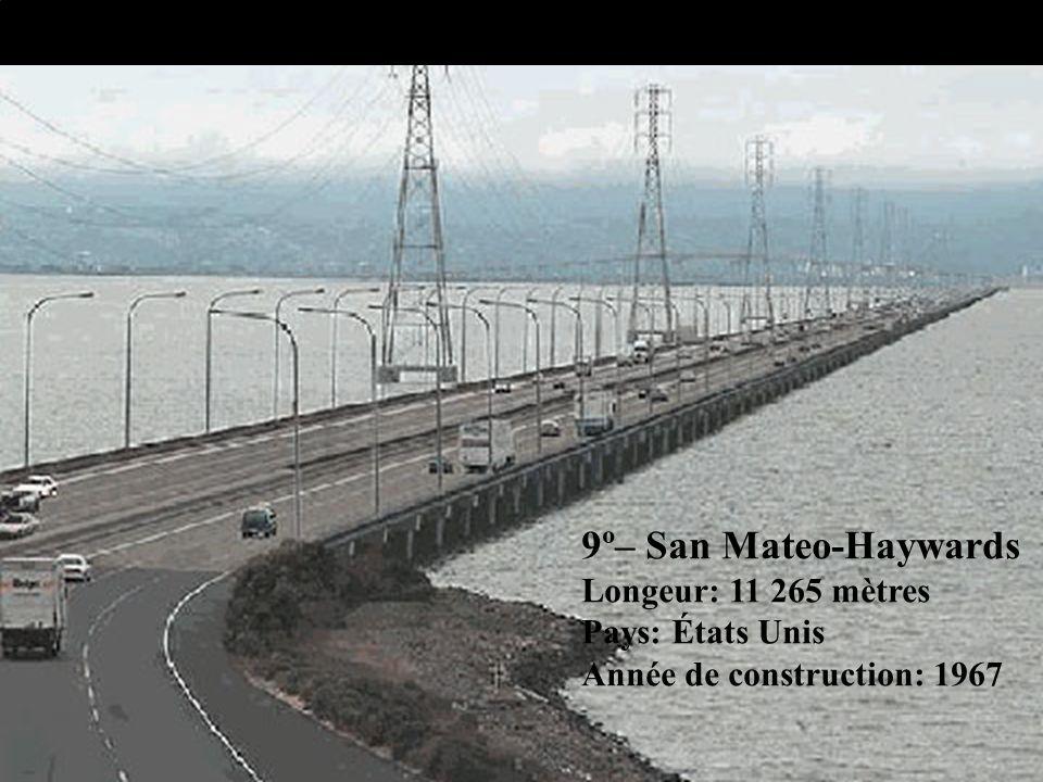 10º – Seven Mile Longeur: 10 887 mètres Pays: États Unis Année de construction: 1982