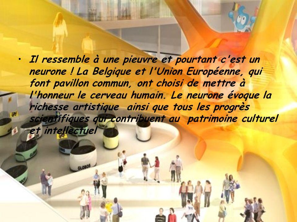 Pavillon Belgique & l Union Européenne