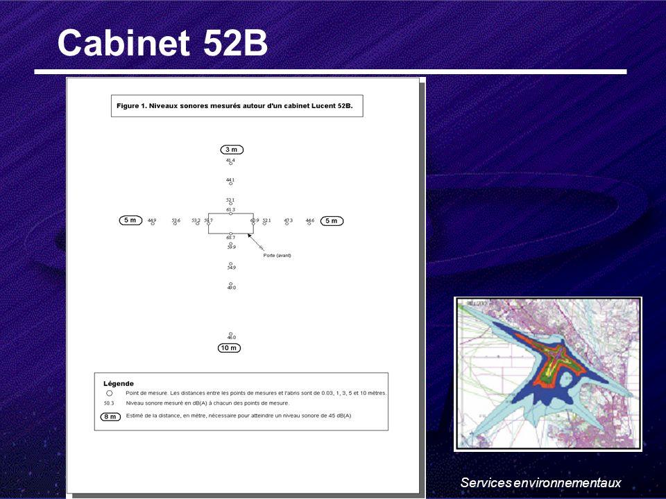 Services environnementaux Cabinet 52B