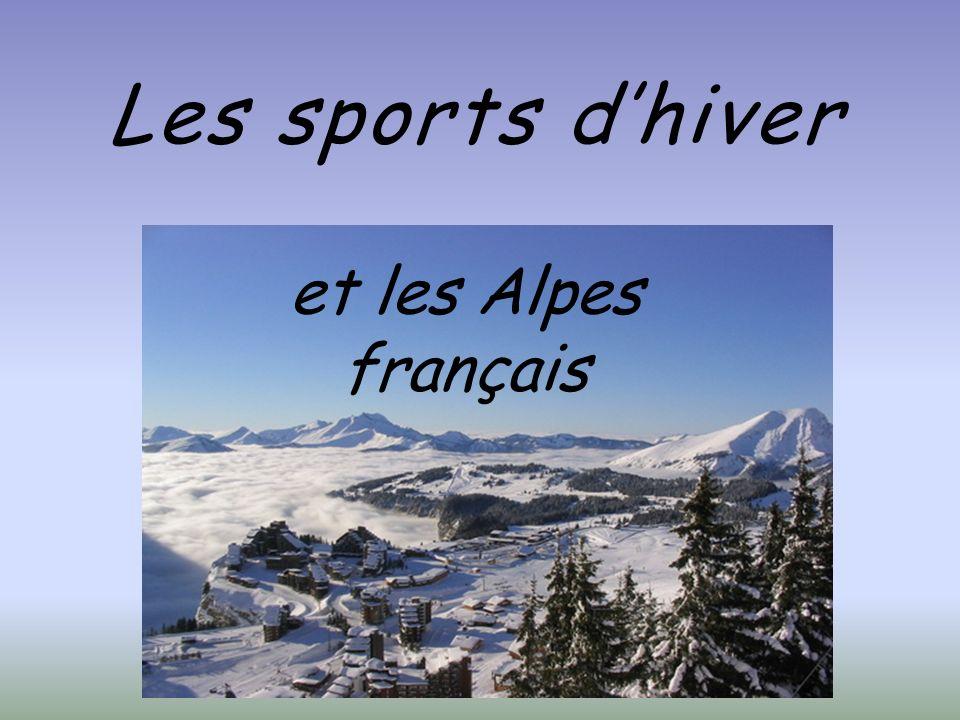 Les sports dhiver et les Alpes français