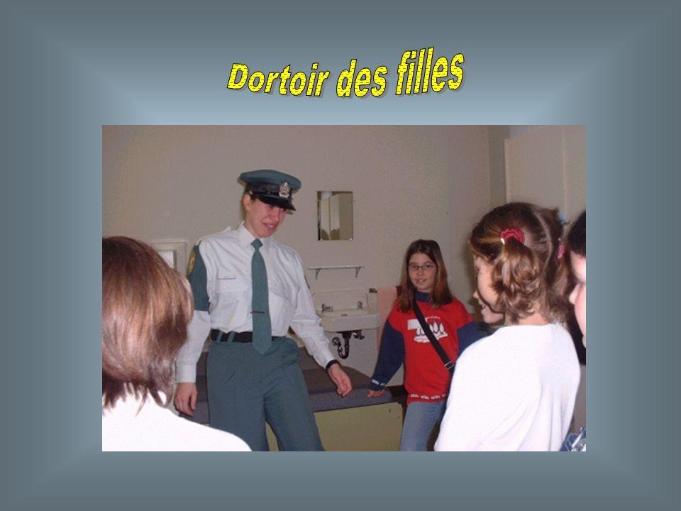 Linspection générale des chambres et de la tenue vestimentaire des aspirants policiers est : un mécanisme de contrôle. Elle permet de sassurer que les