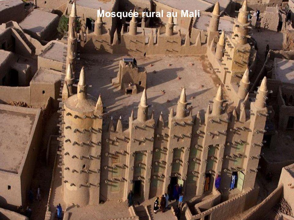 Mosquée rural au Mali