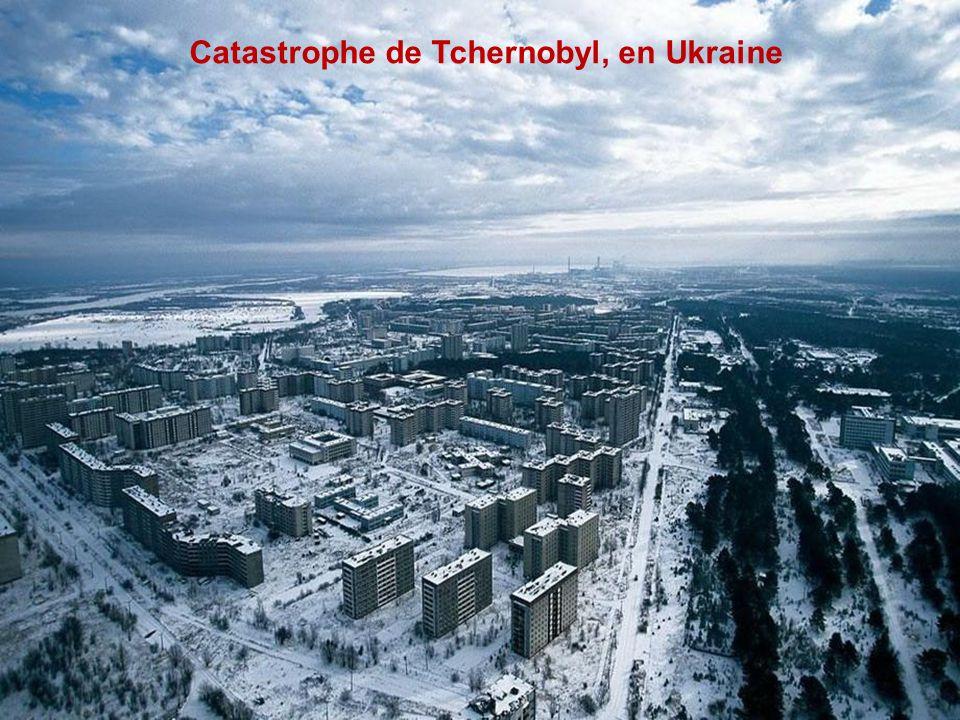 Catastrophe de Tchernobyl, en Ukraine