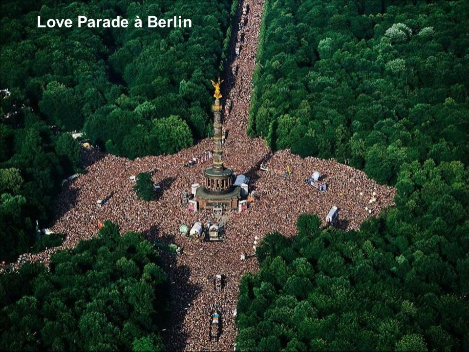 Love Parade à Berlin
