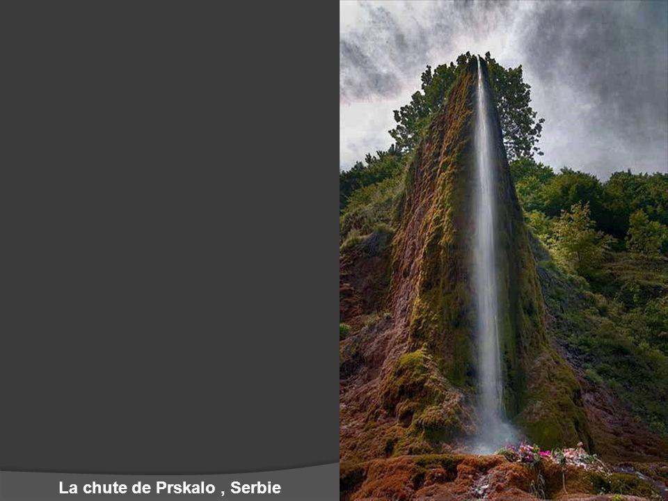 La chute de Prskalo, Serbie