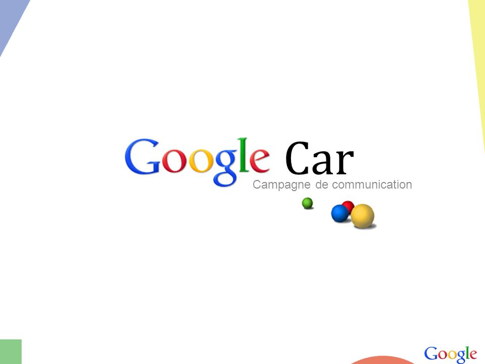 Google Car Campagne de communication