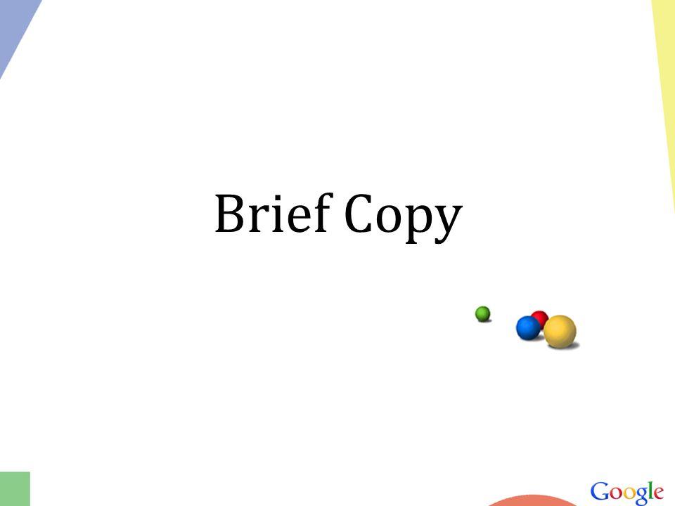 Brief Copy