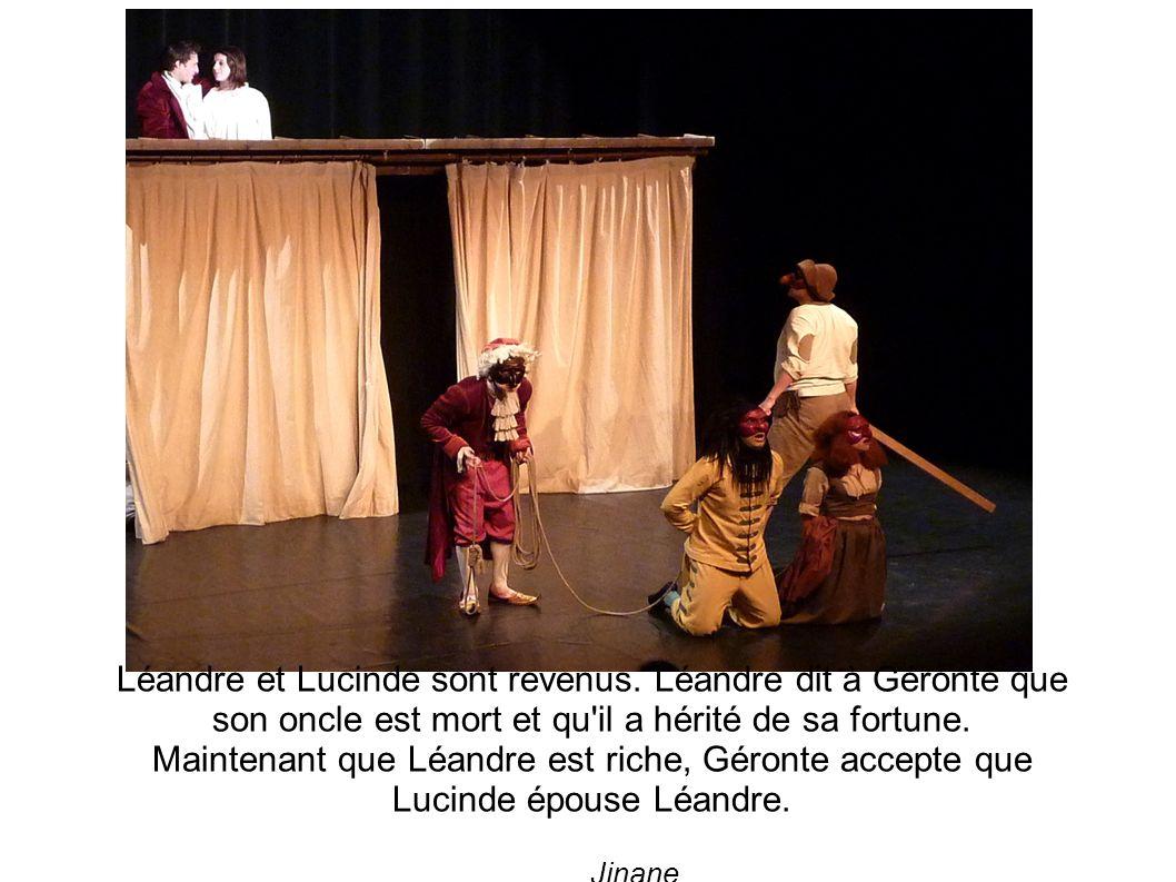 Léandre et Lucinde sont revenus.