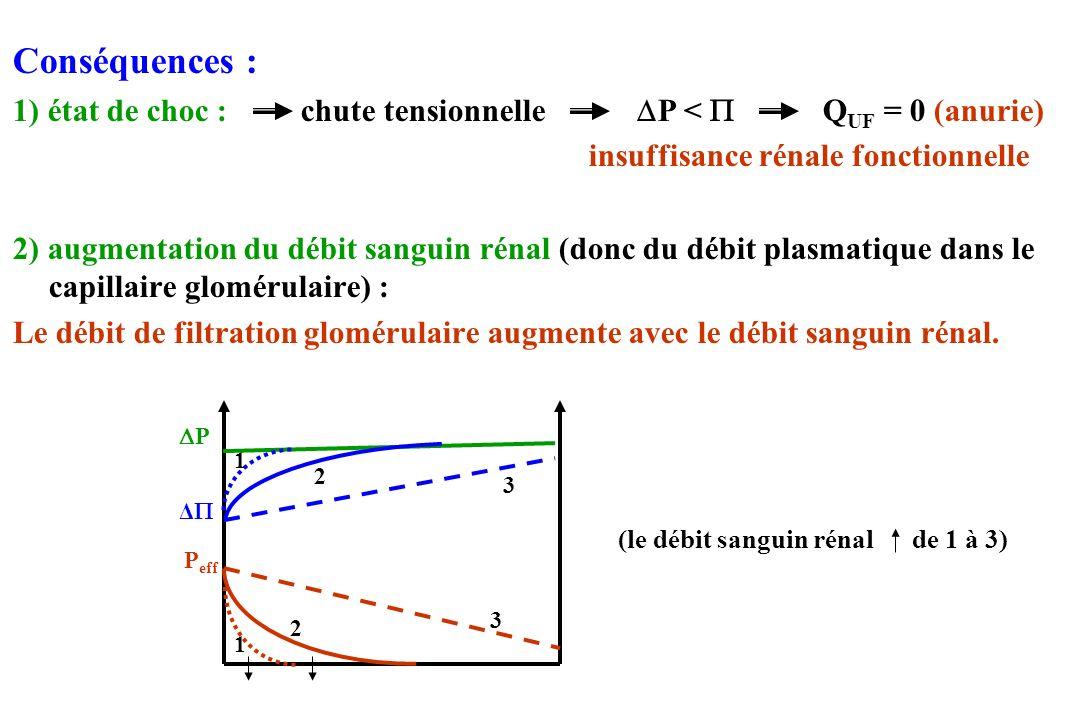 b) Clairance Définition :clairance = unité = débit (ml/mn etc…) Conséquence :La clairance dune substance est le volume de solution totalement épuré de cette substance par unité de temps.