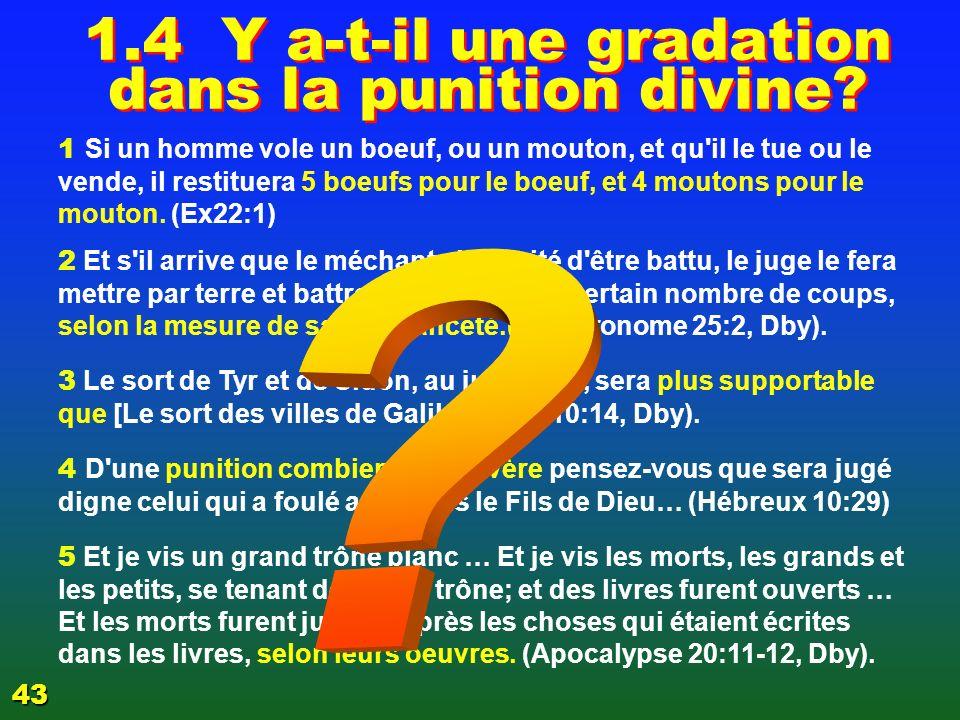 1.3 3 Y a-t-il une gradation dans les péchés 40