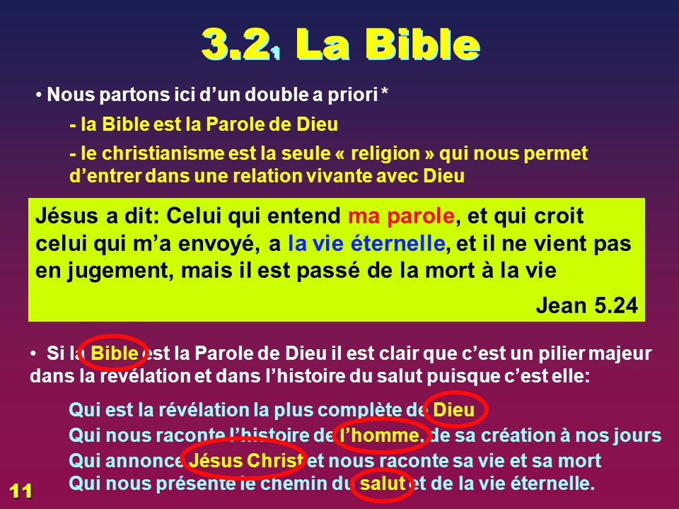 5 points très importants La Bible Lhomme Dieu Jésus Le salut 1 23 5 4 8
