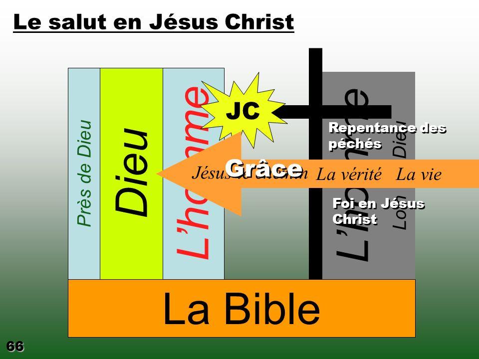 Loin de Dieu Lhomme JC La Bible Dieu Homme Venue de Jésus Christ Jésus Dieu 64