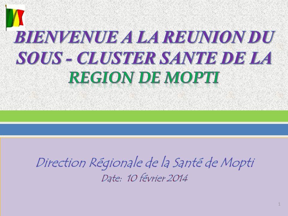 I.Situation épidémiologique et humanitaire des Semaines 5 et 6 de lannée 2014 II.
