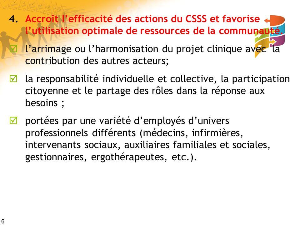 17 Rapports sociaux Certains groupes et individus (des secteurs public, communautaire et du bénévolat) ont leurs propres agendas pouvant monopoliser les groupes (mettant ainsi un frein à l engagement communautaire).