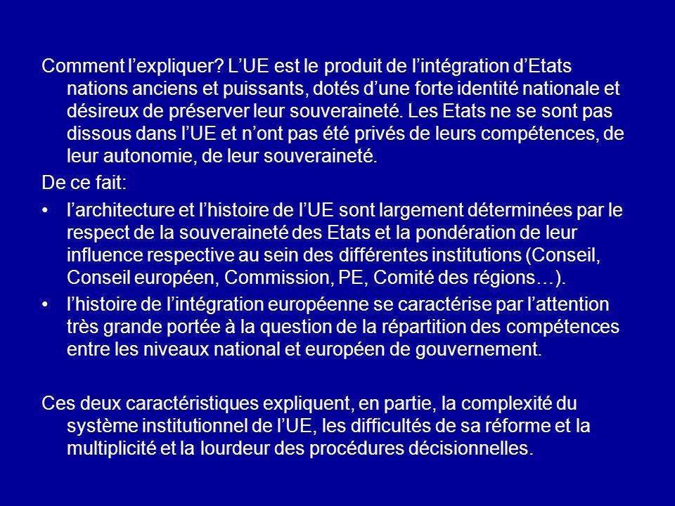 19/05/201429 Ces trois tensions renvoient aux tensions internes de la Commission : la Commission nest pas « une » institution, dotée dun intérêt.