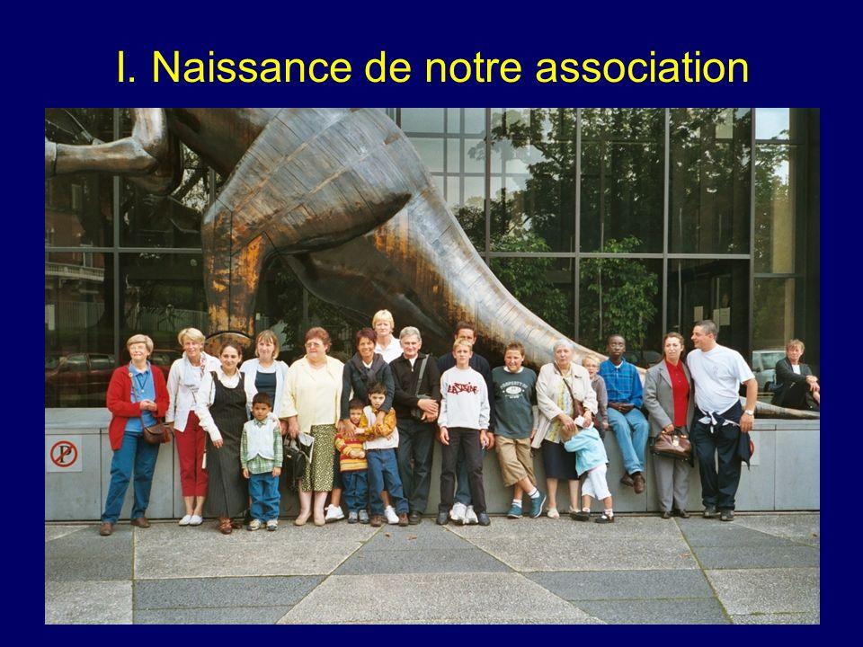 I. Naissance de notre association 1991: nécessité daccompagner les patients après leur hospitalisation idée de fonder un Groupement dAide aux Brûlés
