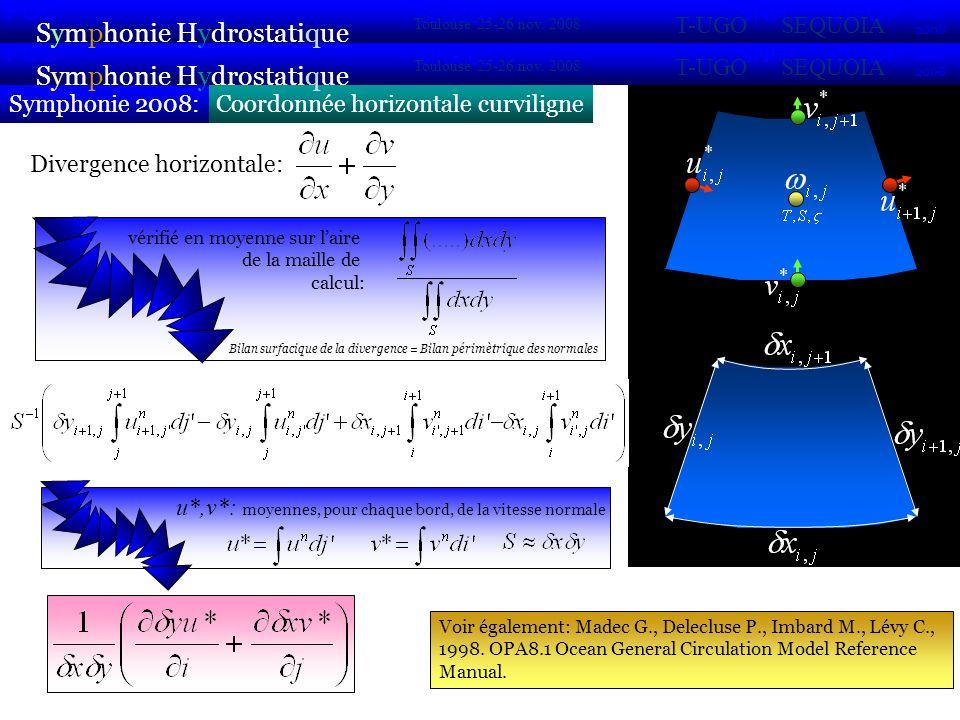 Coordonnée horizontale curviligneSymphonie 2008: Symphonie Hydrostatique 2007 2008 POC VIFOP Sirocco Toulouse 25-26 nov.