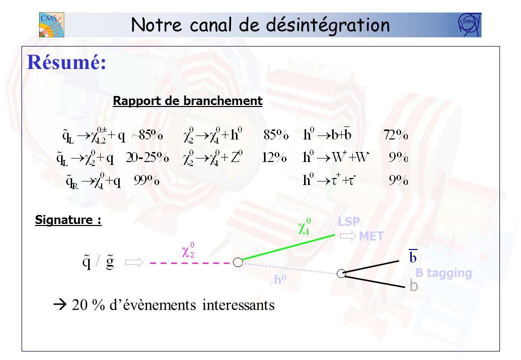 Les évènements Création des évènements: Ntuple signal Ntuple minbias OSCAR 3 HEPEVT Ntuple ORCA 8 POOL SimHits/minbias POOL SimHits/signal POOL Digis DST OSCAR SimReaderRecReader MC generator CMKIN Production User 1)digitization data summary tape ROOT Tree RecReader 3)analysis2 )reconstruction NEW Pool Of persistent Objects for LHC