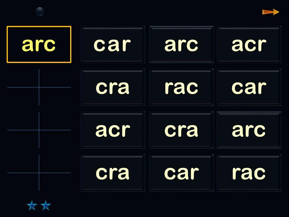 Sl rac cararcacr craraccar acrcraarc cracarrac