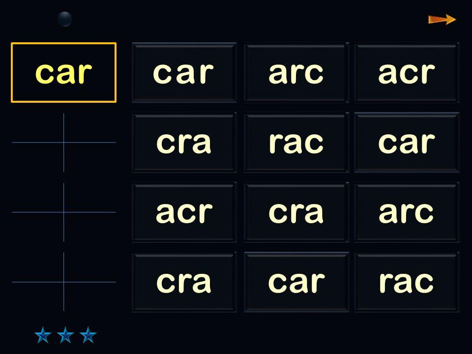 Sl arc cararcacr craraccar acrcraarc cracarrac arc