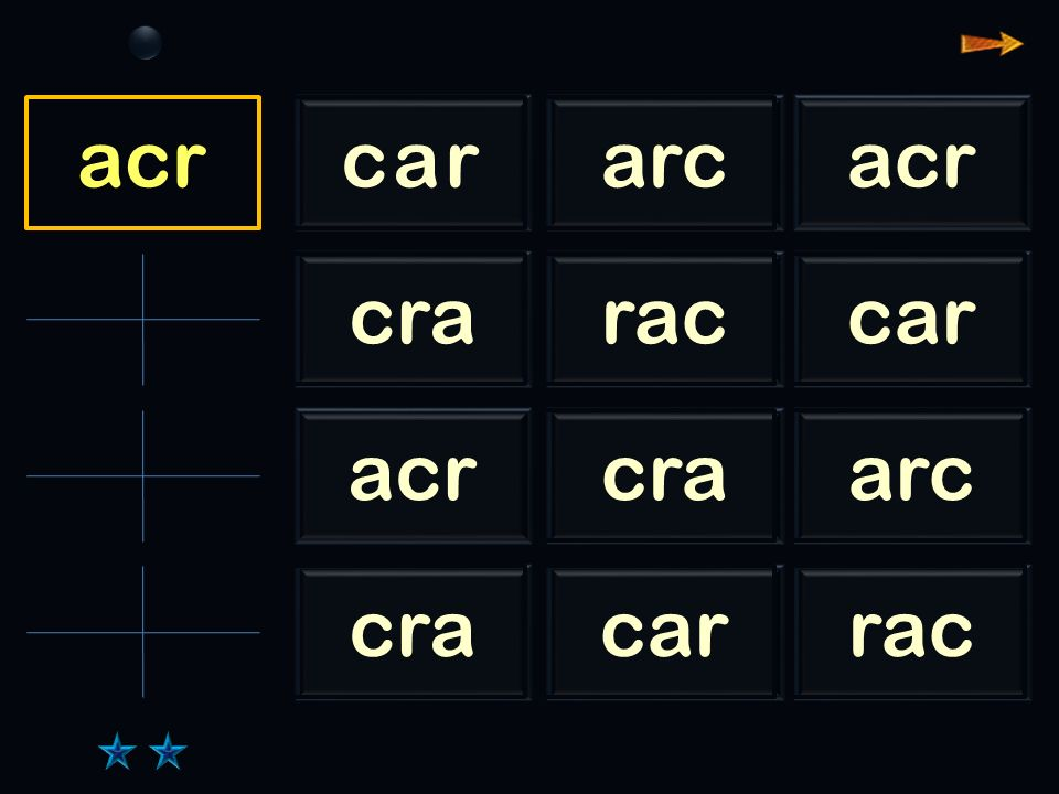 Sl car cararcacr craraccar acrcraarc cracarrac car