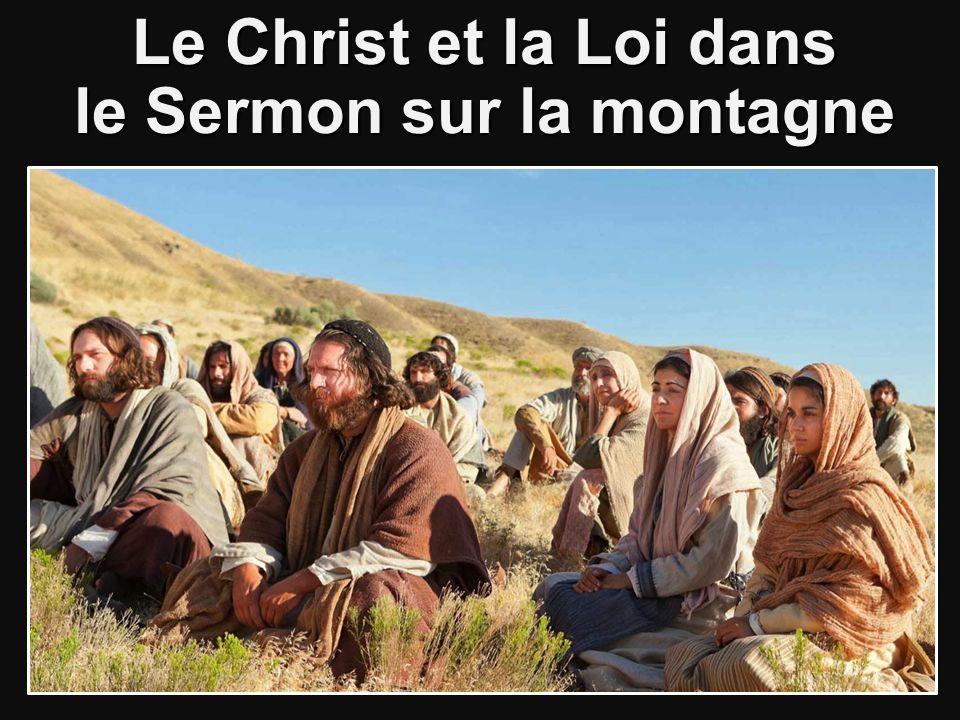 Le Christ et la Loi dans le Sermon sur la montagne
