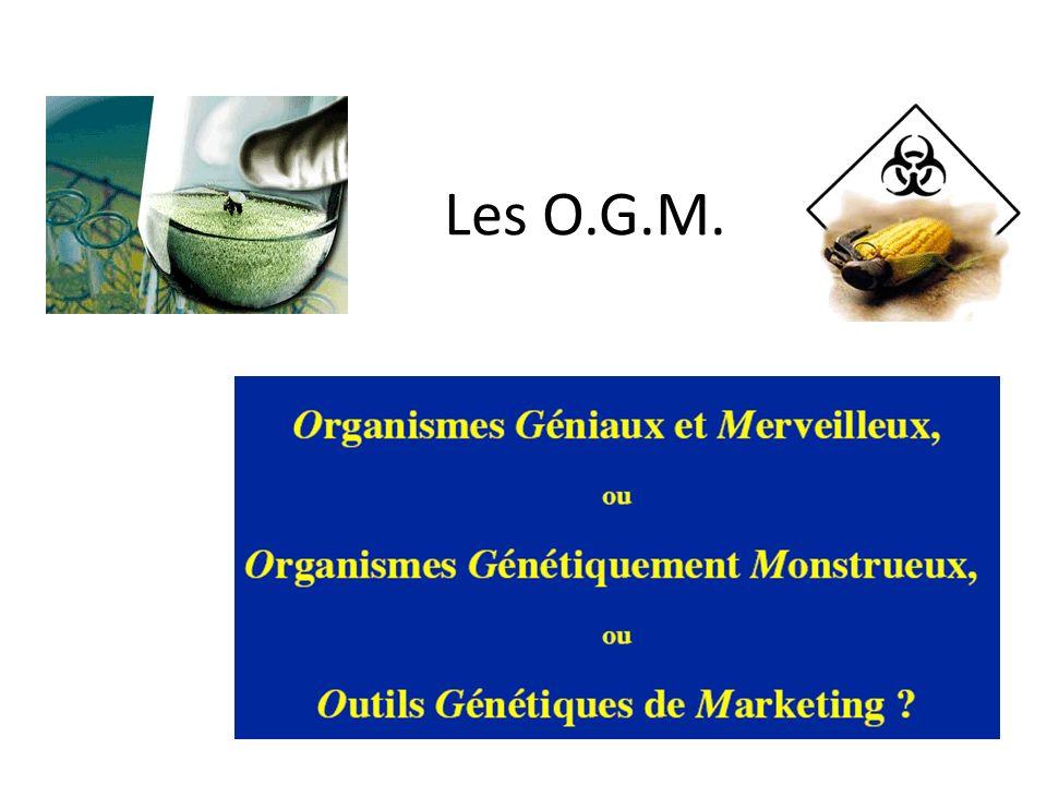 Les O.G.M.
