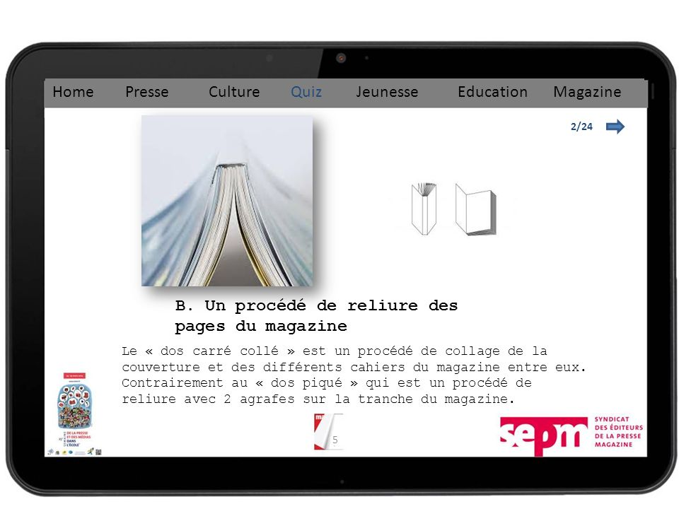 36 16/24 Home Presse Culture Quiz Jeunesse Education Magazine