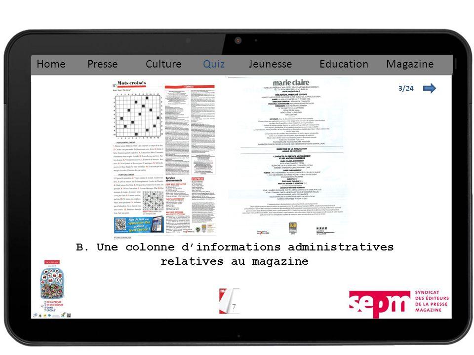18 8/24 C. 1857 Home Presse Culture Quiz Jeunesse Education Magazine