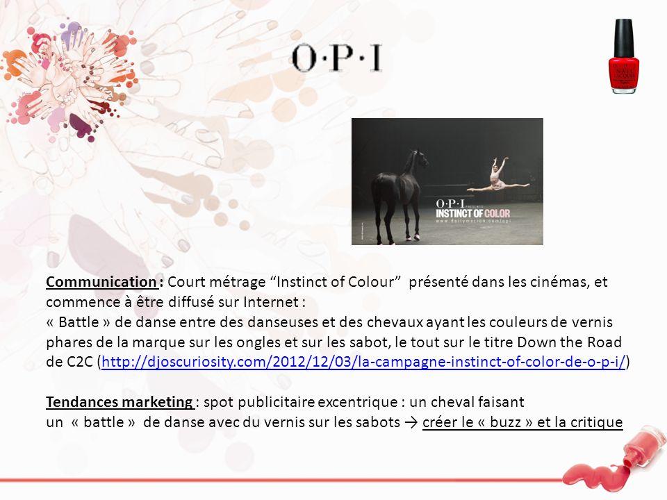 Communication : Court métrage Instinct of Colour présenté dans les cinémas, et commence à être diffusé sur Internet : « Battle » de danse entre des da