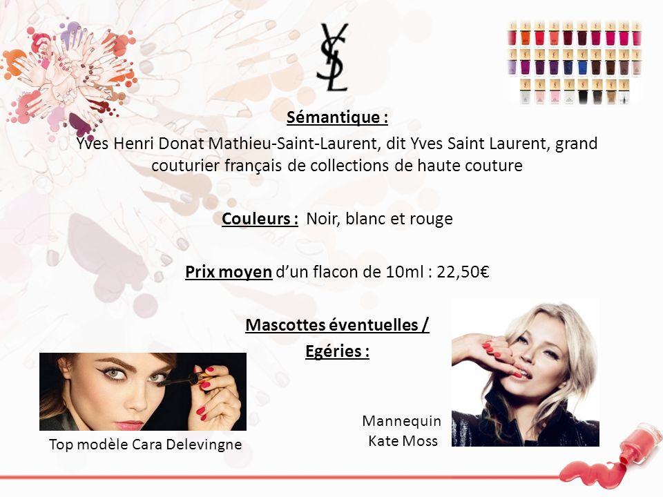 Sémantique : Yves Henri Donat Mathieu-Saint-Laurent, dit Yves Saint Laurent, grand couturier français de collections de haute couture Couleurs : Noir,