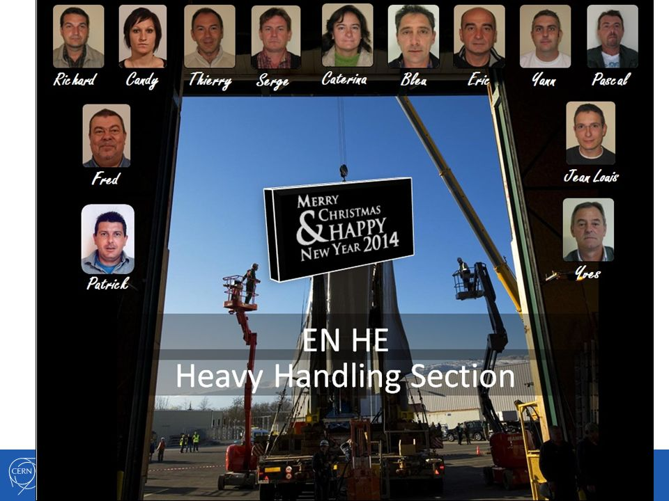 Name / EN-HE-XX Engineering Department EN-HE Annual Meeting 13.12.2013 14