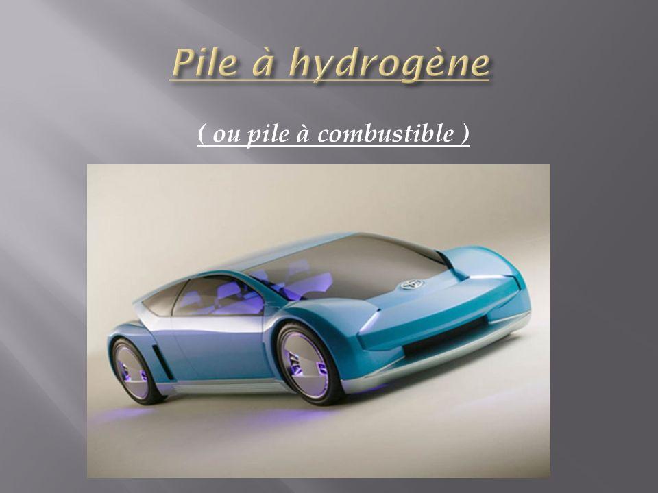 Nous appelons plus communément, la pile à hydrogène, pile à combustible.