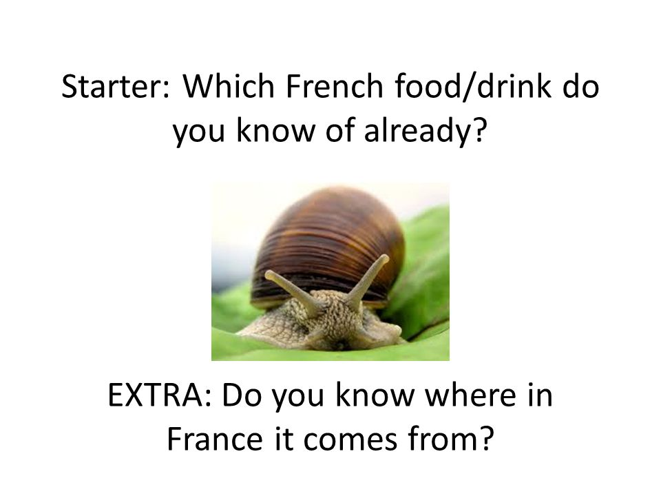 Quest-ce que tu aimes manger.Write about what you like and dislike from the list with reasons.