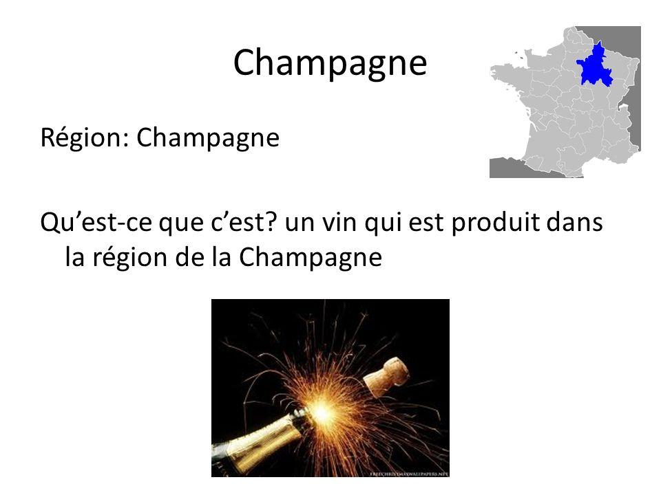 Champagne Région: Champagne Quest-ce que cest.