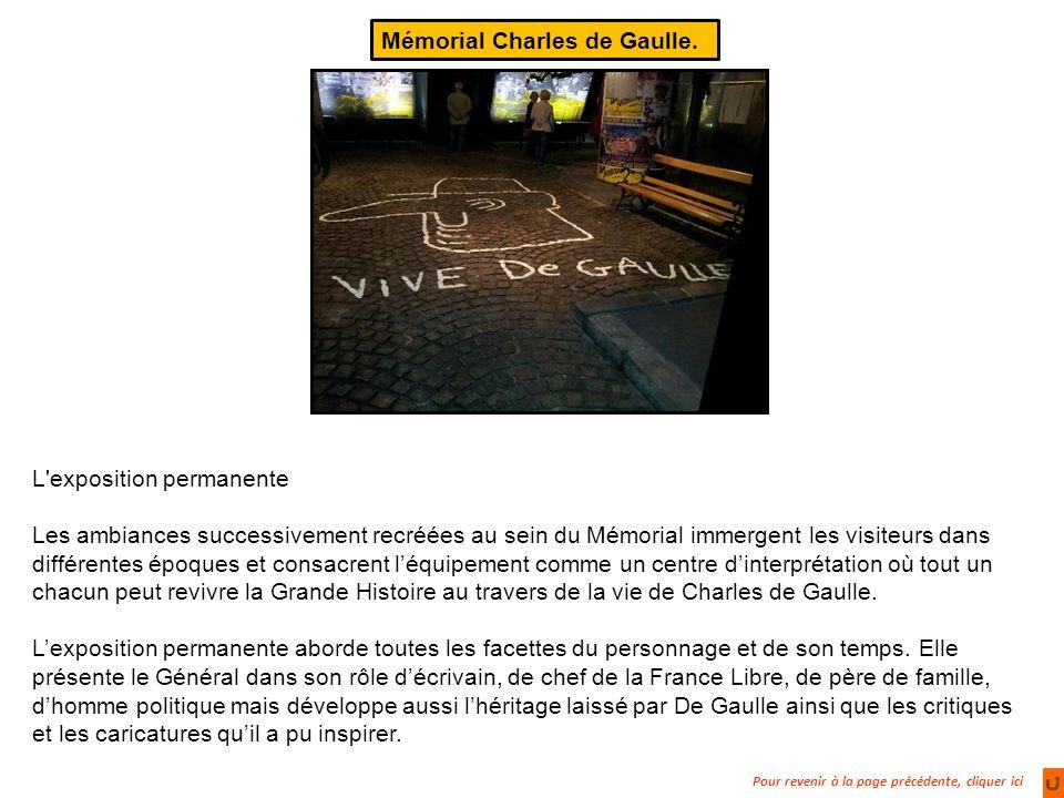 Mémorial Charles de Gaulle.
