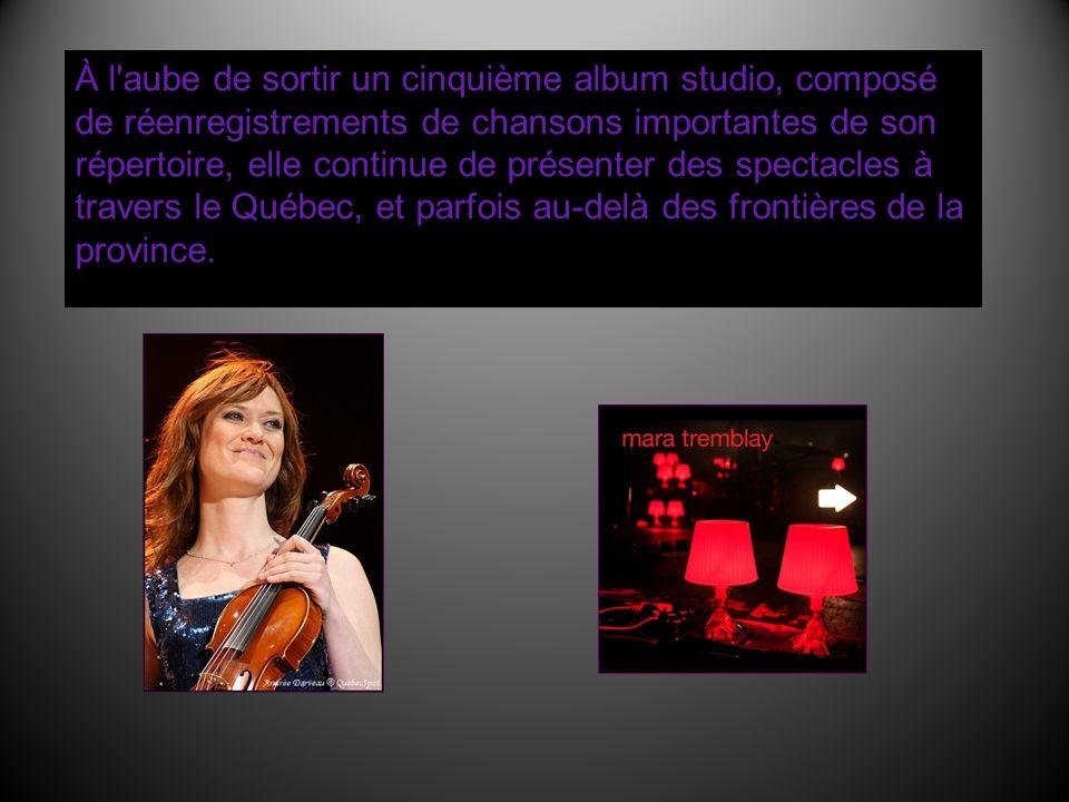 À l'aube de sortir un cinquième album studio, composé de réenregistrements de chansons importantes de son répertoire, elle continue de présenter des s