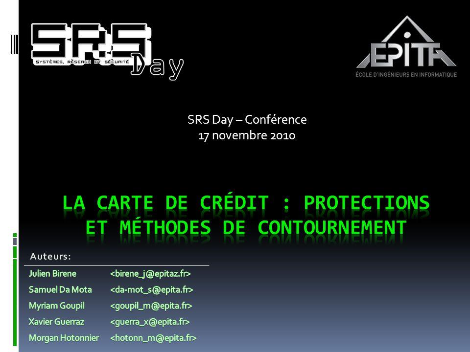 SRS Day – Conférence 17 novembre 2010