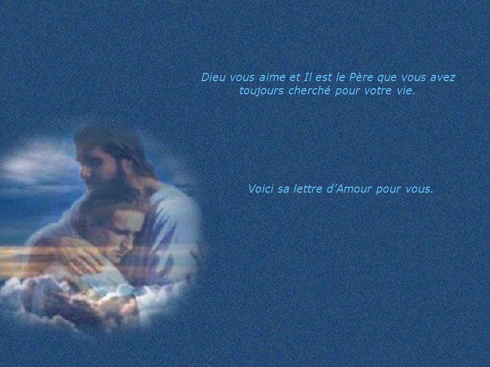 Jai toujours été le Père et je serai toujours ton Père.